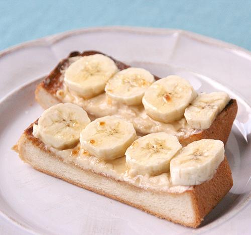 バナナトースト1